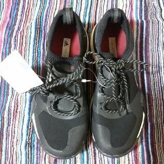 アディダスバイステラマッカートニー(adidas by Stella McCartney)の23cm新品adidasステラマッカートニースニーカー黒ピュアブースト(スニーカー)
