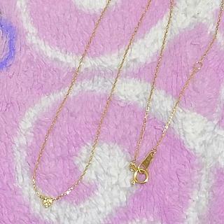 ノジェス(NOJESS)の美品⭐️ノジェス K18 YG  ハートパヴェネックレス⭐️(ネックレス)