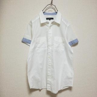 ビューティアンドユースユナイテッドアローズ(BEAUTY&YOUTH UNITED ARROWS)の♪ユナイテッドアローズ 半袖 デザイン シャツ♪(シャツ/ブラウス(半袖/袖なし))