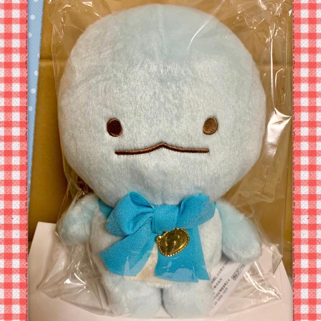サンエックス(サンエックス)のすみっコぐらし しろくまのてづくりぬいぐるみ とかげ エンタメ/ホビーのおもちゃ/ぬいぐるみ(ぬいぐるみ)の商品写真