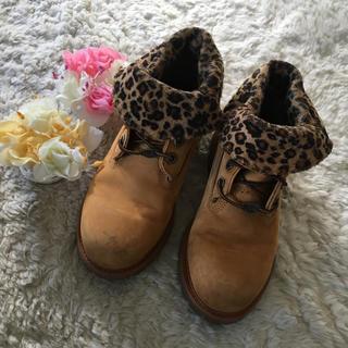 ティンバーランド(Timberland)のレオパード柄が素敵♪ティンバーランドブーツ 23.0cm(ブーツ)