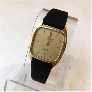 オメガ(OMEGA)のオメガΩデビル 金張り クォーツ 新品ベルト トゥモローランド HIROB(腕時計)