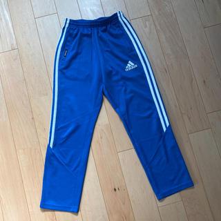 adidas - adidas サイドライン ジャージ ズボン ブルー 140