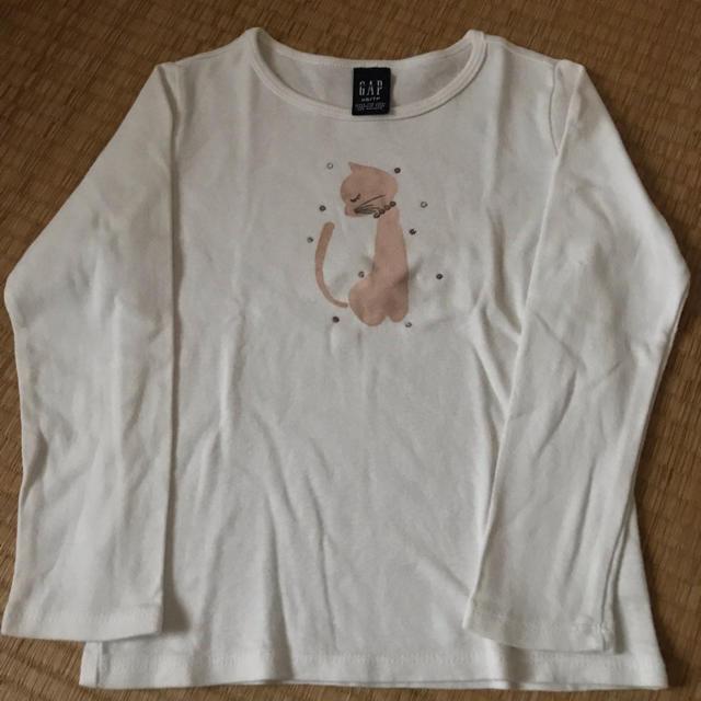 GAP(ギャップ)のGAP90㎝くらい?XS長袖Tシャツ キッズ/ベビー/マタニティのキッズ服 女の子用(90cm~)(Tシャツ/カットソー)の商品写真