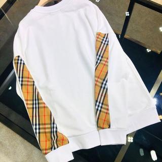 バーバリー(BURBERRY)のバーバリーのブロンクスチェックスウェットシャツ(スウェット)