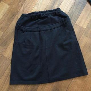 ムジルシリョウヒン(MUJI (無印良品))の無印 マタニティスカート M-Lサイズ 美品(マタニティボトムス)