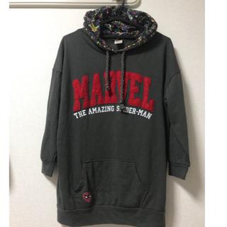 しまむら - MARVEL スパイダーマン パーカー