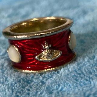 ヴィヴィアンウエストウッド(Vivienne Westwood)のヴィヴィアン  ウエストウッド  キングリング 赤 金(リング(指輪))