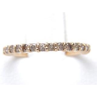 お値引き不可 K18ピンクゴールド 天然 ダイヤ リング(リング(指輪))