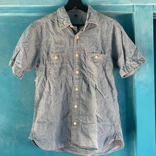 ムジルシリョウヒン(MUJI (無印良品))の半袖 シャツ(Tシャツ/カットソー(半袖/袖なし))