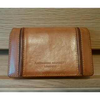 KATHARINE HAMNETT - キャサリンハムネット 名刺入れ カードケース