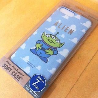 トイストーリー(トイ・ストーリー)のリトルグリーンメン iPhone 7Plus スマホケース DN470(iPhoneケース)
