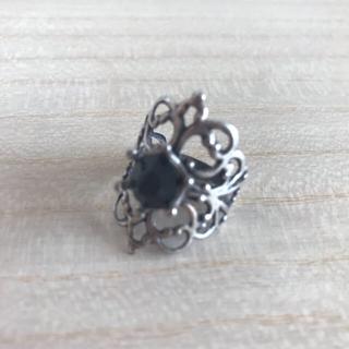 リング [シルバー×黒] ゴシック クラシカル(リング(指輪))