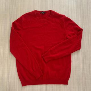 ユニクロ(UNIQLO)のユニクロ カシミヤセーター 今月中のみ出品(ニット/セーター)