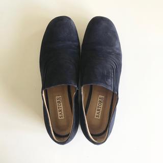 サルトル(SARTORE)の【SARTORE サルトル】スエードローファーシューズ 37.5(ローファー/革靴)