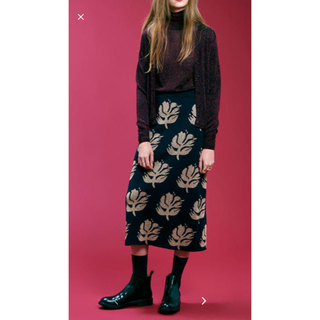 ロンハーマン(Ron Herman)のロンハーマンで購入 DEMYLEEのニットスカート(ロングスカート)