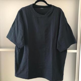 ジーナシス(JEANASIS)のジーナシス 黒ティーシャツ(Tシャツ(半袖/袖なし))