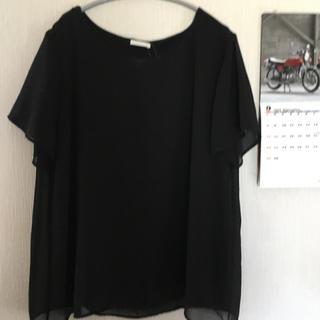 ジーユー(GU)の【難あり】新品*gu*レイヤードTシャツ(シャツ/ブラウス(半袖/袖なし))