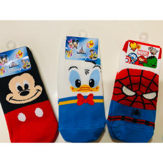 Disney - キャラクター靴下
