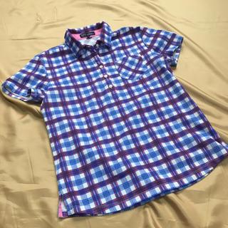ニジュウサンク(23区)の23区ゴルフ 半袖チェックシャツ(ウエア)