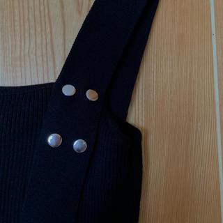 カスタネ(Kastane)のkastane ノースリーブ スクエアネック(カットソー(半袖/袖なし))