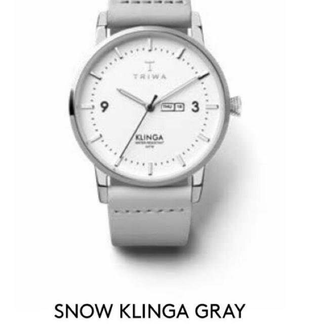 TRIWA - triwa snow klinga grayの通販