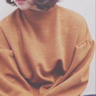 ダブルクローゼット(w closet)のw closet ブラウン ロンT カットソー トレーナー(Tシャツ(長袖/七分))