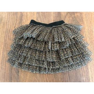 ザラキッズ(ZARA KIDS)のレオパード チュール スカート(スカート)