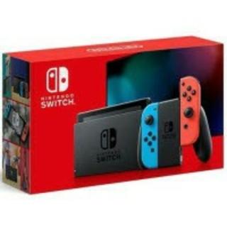 新品未使用品 Nintendo Switch ブルー/レッド(家庭用ゲーム機本体)
