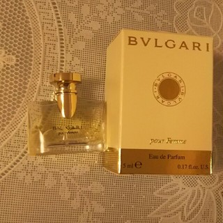 BVLGARI - ブルガリ 香水 ミニボトル 5ml BVLGARI pour Femme