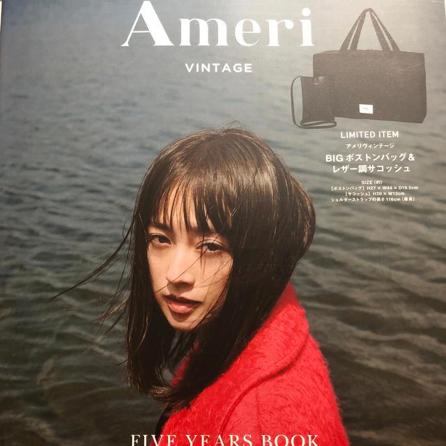 Ameri VINTAGE(アメリヴィンテージ)のameri 5 years book エンタメ/ホビーの本(ファッション/美容)の商品写真