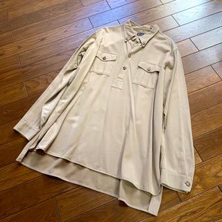 アルマーニ(Armani)の【直営店】GIORGIO ARMANI◆大きなサイズ◆高級プルオーバーシャツ(シャツ)