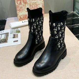 ディオール(Dior)のお勧め! DIOR ブーツ 革靴 レディース 正規品 (ブーツ)
