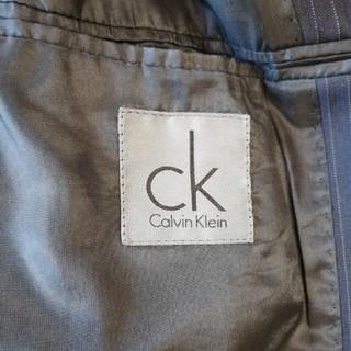 カルバンクライン(Calvin Klein)のカルバンクライン スーツ 紺ストライプ(セットアップ)