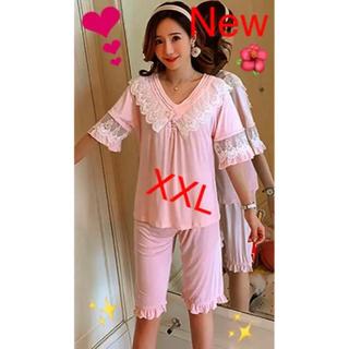 ピンクレース刺繍パジャマ  ロリータルームウェア ★災害寄付セール★(パジャマ)