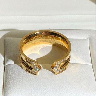 カルティエ(Cartier)のリングカルティエ指輪 WG750 (リング(指輪))