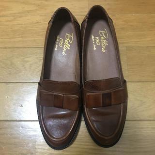 ディエゴベリーニ(DIEGO BELLINI)のDIEGO Bellini ディエゴベリーニ リボンローファー 24 (ローファー/革靴)
