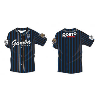 ガンバ大阪 ベースボールシャツ