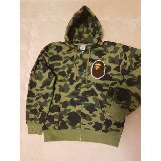 A BATHING APE - A BATHING APE × Championコラボパーカー