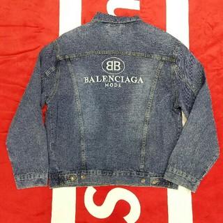 バレンシアガ(Balenciaga)のBALENCIAGAバレンシアガ デニムジャケット メンズ ファッション(Gジャン/デニムジャケット)
