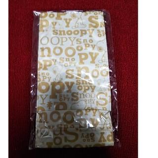 スヌーピー(SNOOPY)のAOKI×スヌーピー コラボレジ袋ストッカー(茶)(キッチン収納)