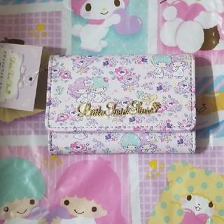 サンリオ(サンリオ)の新品♡リトルツインスターズ名刺&カードケース(名刺入れ/定期入れ)