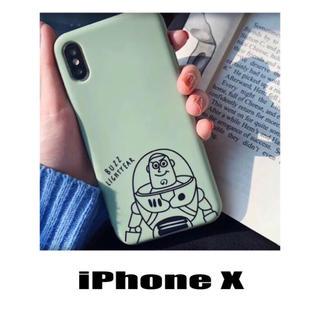 トイストーリー(トイ・ストーリー)のトイストーリー バズ ディズニー iPhoneX iPhoneケース(iPhoneケース)