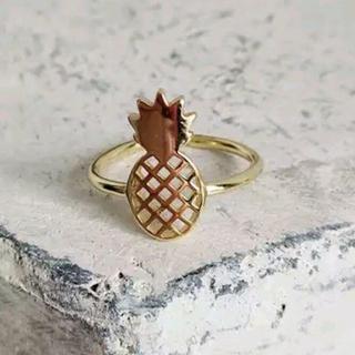 パイナップル シルバーリング(リング(指輪))
