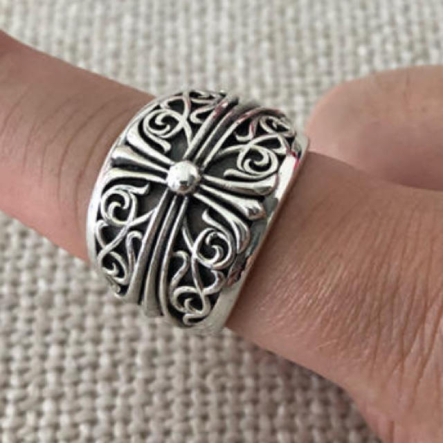 Chrome Hearts(クロムハーツ)のクロムハーツ オーバークロス メンズのアクセサリー(リング(指輪))の商品写真