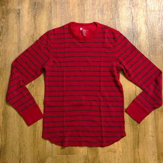 ギャップ(GAP)のUS古着GAPボーダー柄サーマルTギャップH&MアバクロBEAMSビームスAPC(Tシャツ/カットソー(七分/長袖))
