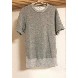 ハイク(HYKE)のHYKE 裏起毛グレーTシャツ(Tシャツ(半袖/袖なし))