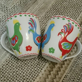 キャスキッドソン(Cath Kidston)の【再値下げ】2客キャスキットソン マグカップ(グラス/カップ)