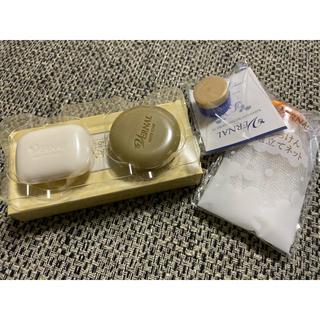 ヴァーナル(VERNAL)のヴァーナル 石鹸 キハナ ネットセット(洗顔料)