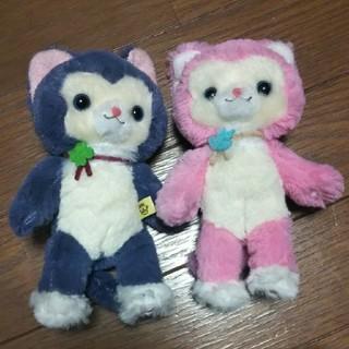 タイトー(TAITO)のハッピーテイルズ ピンク&ブルー(ぬいぐるみ/人形)
